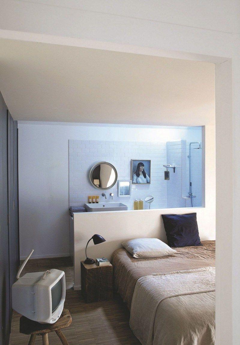 Salle De Bain Beige Marron ~ Visite Le Loft D Annabel Gu Ret Pinterest Le Loft Quartier De
