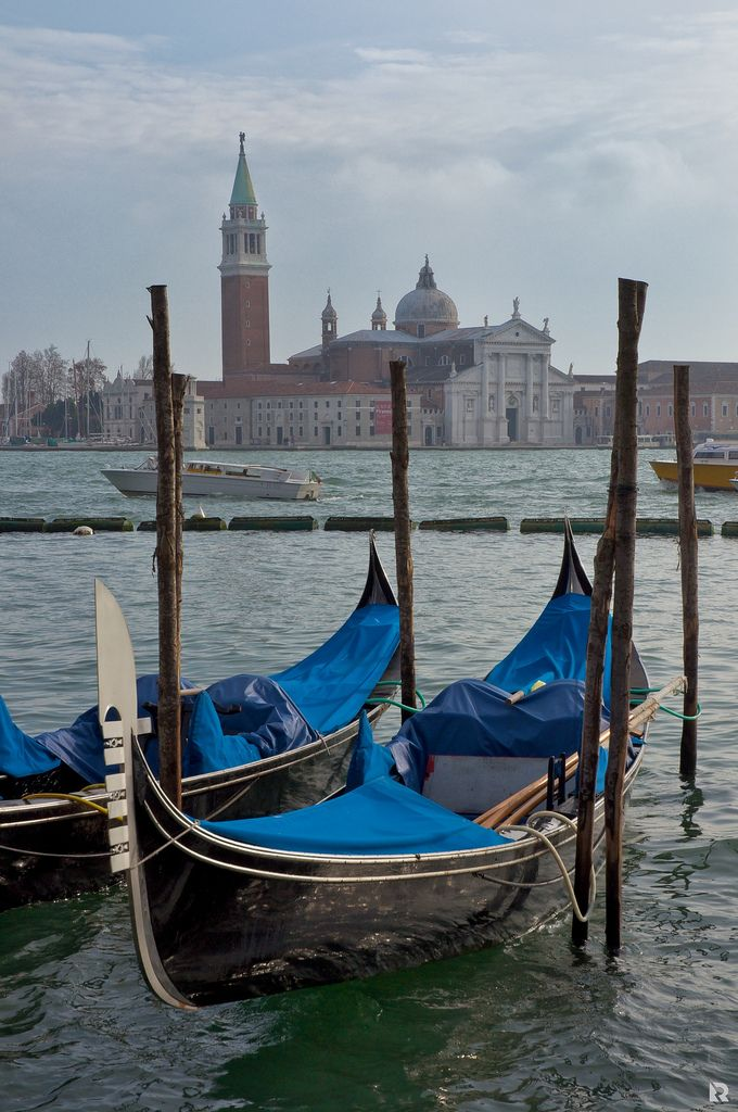 Photo of Venice gondolas