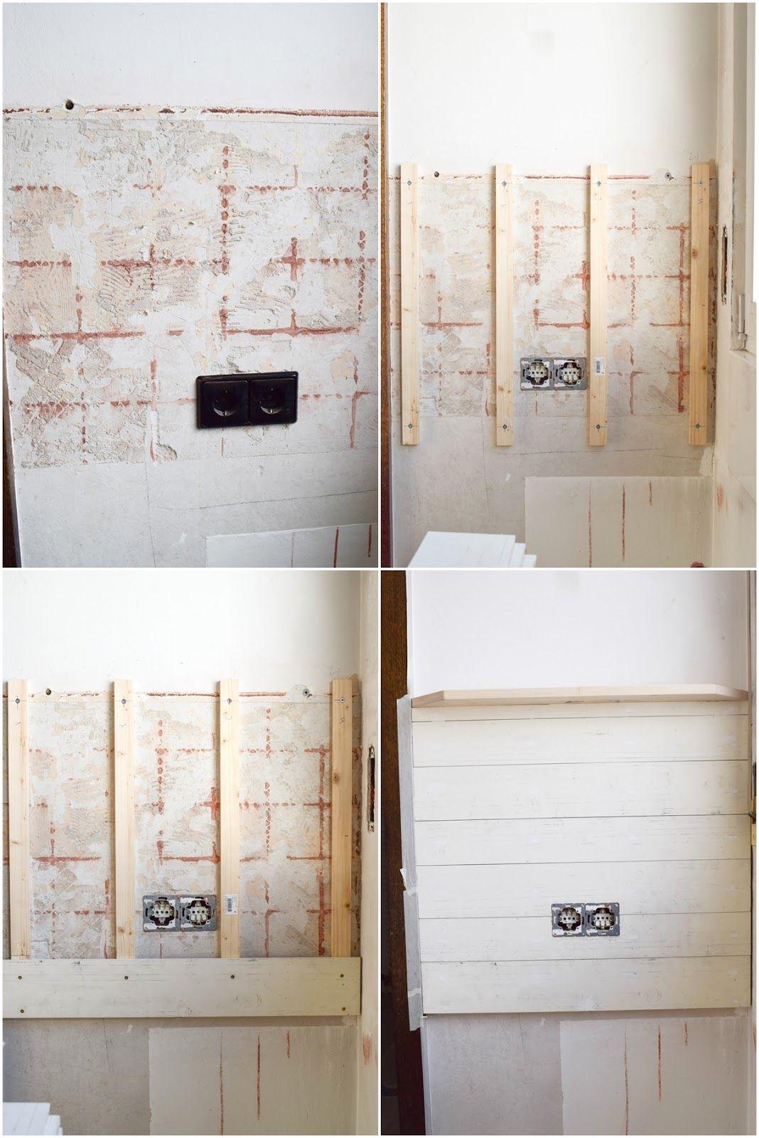 Diy Wandverkleidung Holz Selbermachen Holzvertafelung
