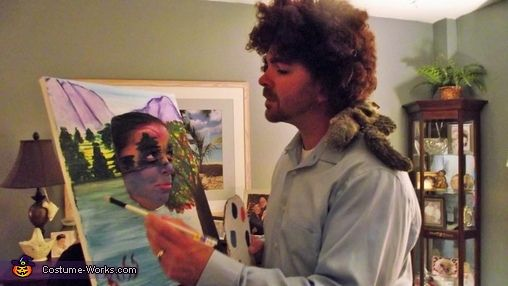 Bob Ross and his Happy Trees Costume | Bob ross, Tree costume and ...
