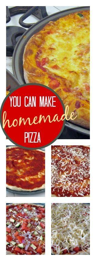 Basic Homemade Pizza Basic Homemade Pizza