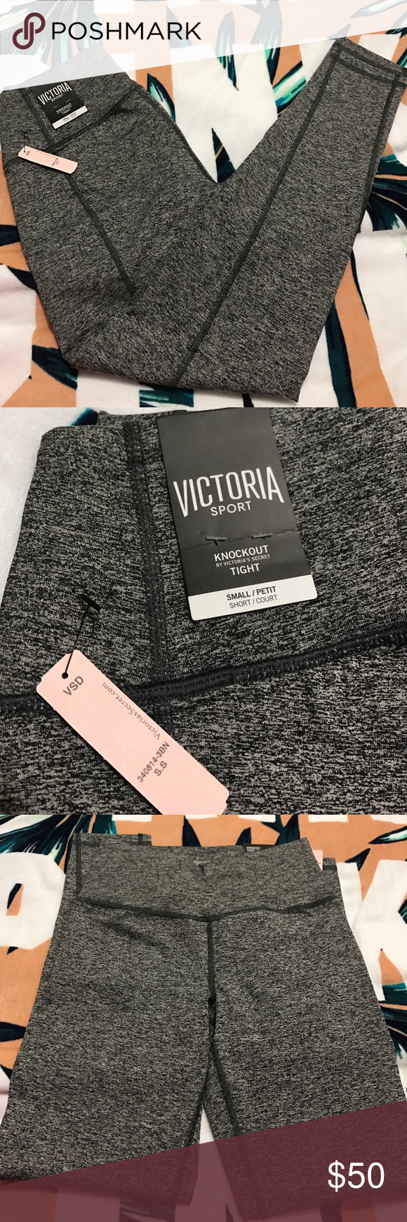 87cc0b94f5213 Victoria's Secret Sport Knockout Tights Brand new with tag. Size ...