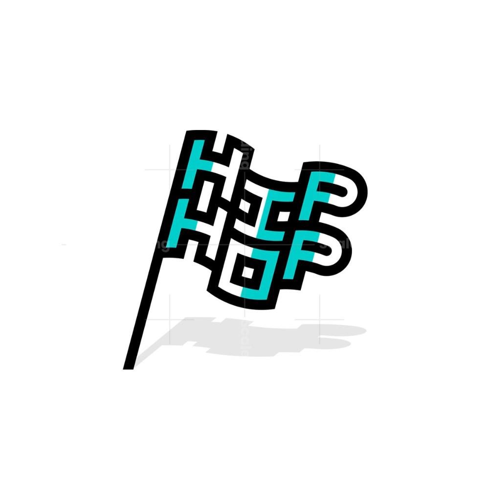 Hip Hop Flag Logo Flag Logo Logos Logo Design