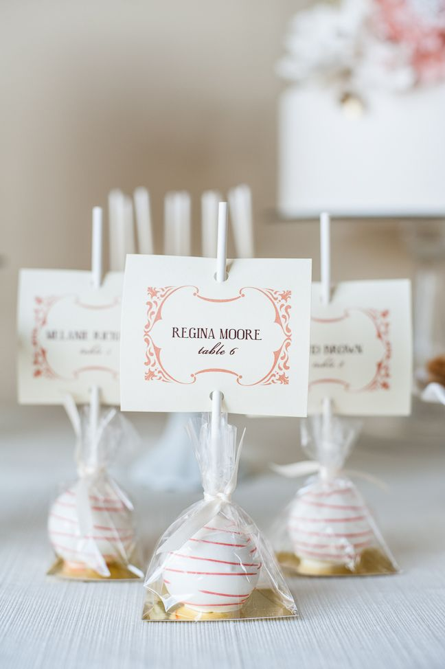 cocoa fig dessert guest favors and party favors wedding crafts pinterest tischkarten. Black Bedroom Furniture Sets. Home Design Ideas