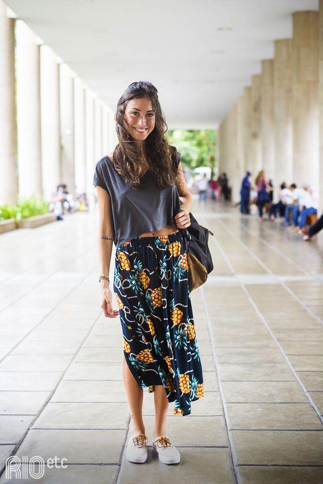Style the look    floral skirt 5e8ba8c48abd4