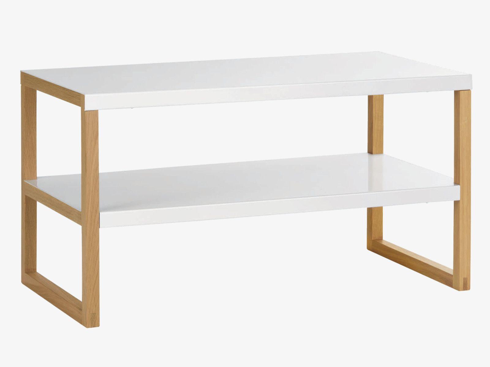 Hallway furniture habitat  KILO White metal  tier tv unit  Storage shelving Shelving and Storage
