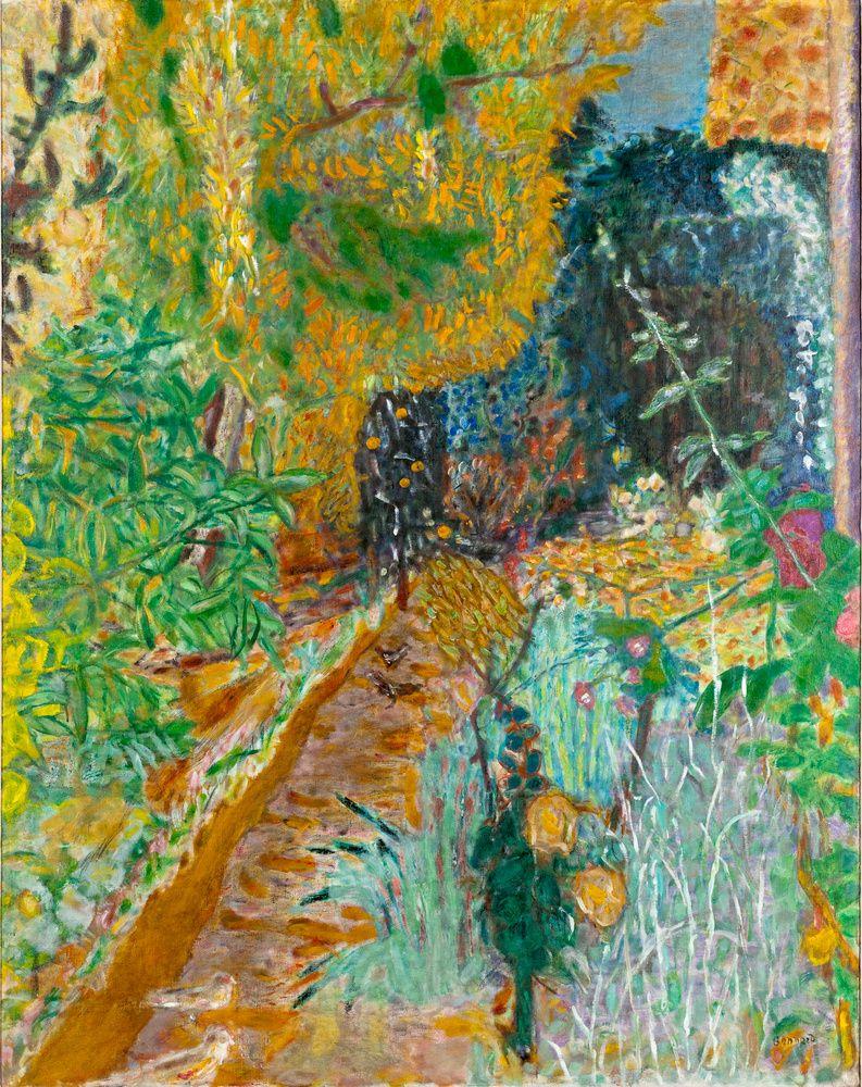 'Le jardin' (1936) by Pierre Bonnard