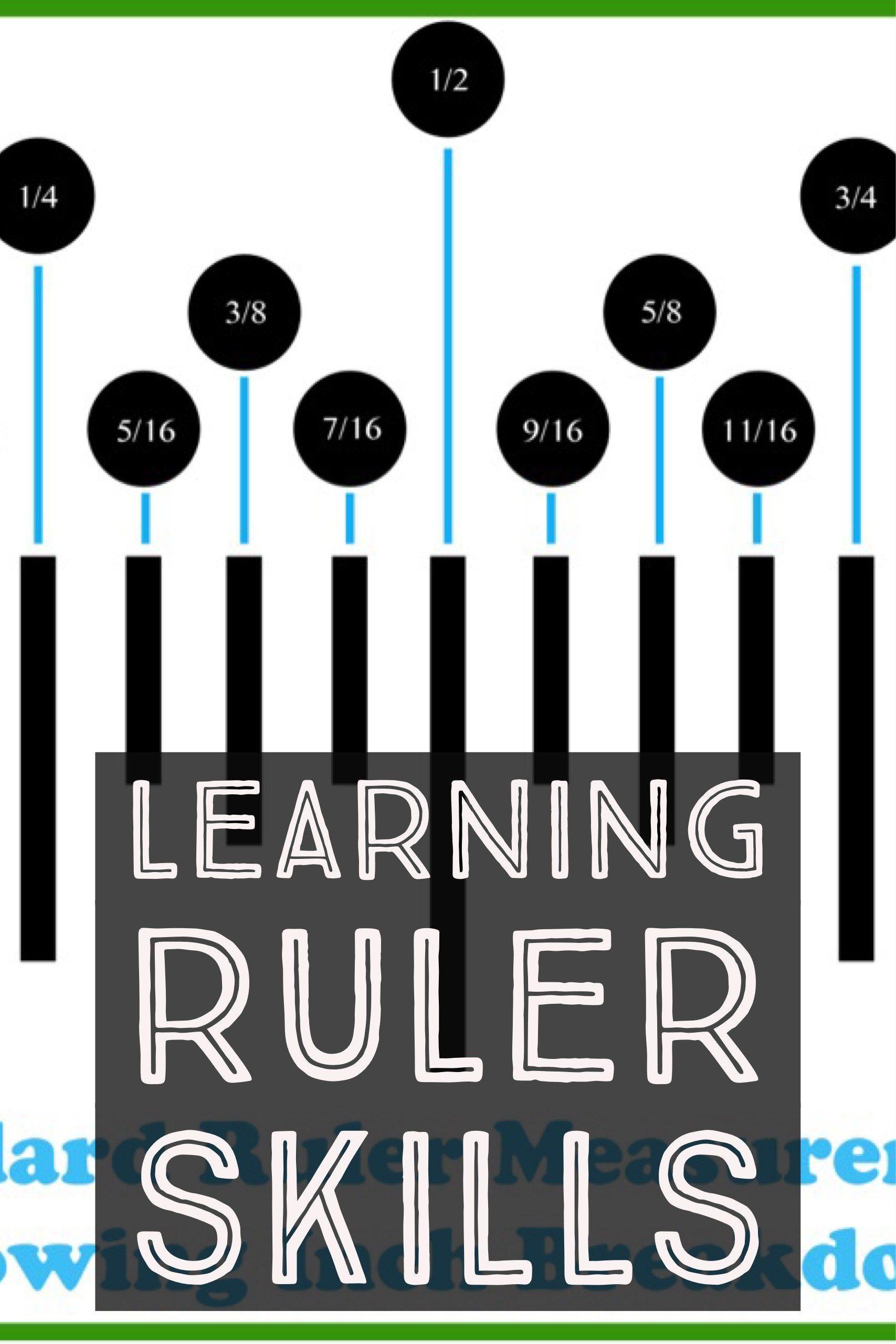 Learning Standard Ruler Skills