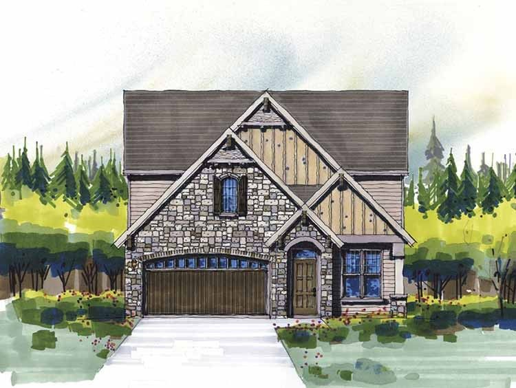 Country Style House Plan 3 Beds 2 5 Baths 2649 Sq Ft Plan 509 312 Craftsman House Plans Country Style House Plans French Country House