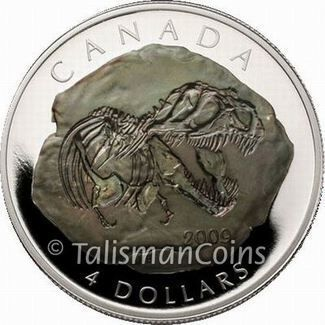 Canada 2009 Dinosaur Fossil - Tyrannosaurus Rex $4 Pure Silver T. Rex Four Dollar Proof with Oxidized Fossil Technology #dinosaurfossils Canada 2009 Dinosaur Fossil - Tyrannosaurus Rex $4 Pure Silver T. Rex Four Dollar Proof with Oxidized Fossil Technology #tyrannosaurusrex Canada 2009 Dinosaur Fossil - Tyrannosaurus Rex $4 Pure Silver T. Rex Four Dollar Proof with Oxidized Fossil Technology #dinosaurfossils Canada 2009 Dinosaur Fossil - Tyrannosaurus Rex $4 Pure Silver T. Rex Four Dollar Proof #tyrannosaurusrex