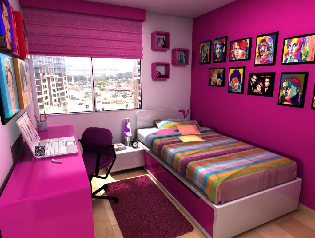 Habitaciones Juveniles Bedroom Teens Habitaciones Cheveres - Decorar-una-habitacion-juvenil