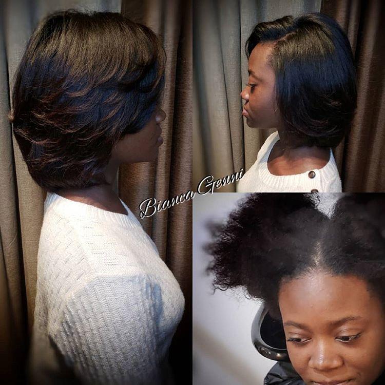 Genni S Touch Hair Salon Llc Hairismeb Instagram Photos And Videos Silkpress Naturalhair Sistasgothair Voiceof With Images Natural Hair Styles Hair Life Hair Salon