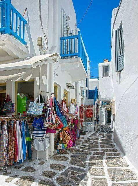 I colori e il fascino della Grecia
