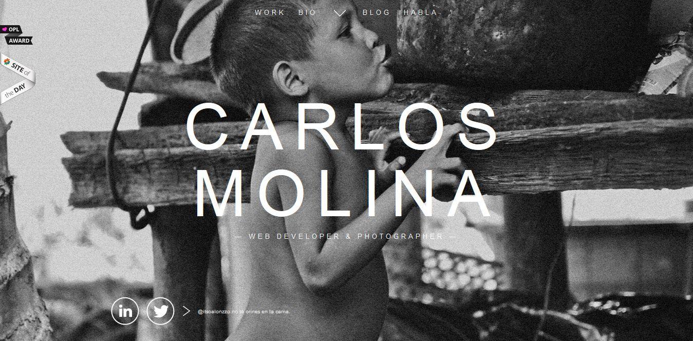 Carlos Molina #background