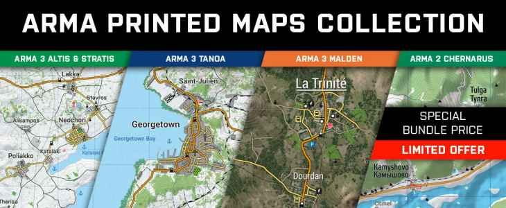 Merchandise Bohemia Interactive Store - Arma 3 us maps | Games And