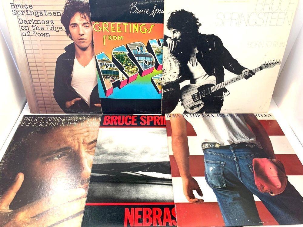 Bruce Springsteen Lp Vinyl Record Album Lot Born In The Usa To Run Nebraska Stores Ebay Com Capcollectib Bruce Springsteen Vinyl Record Album Vinyl Records