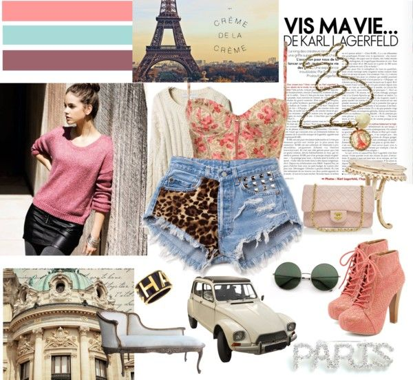 """""""Vintage quelque chose: Barbara Palvin #1"""" by lechicetfabuleux ❤ liked on Polyvore"""