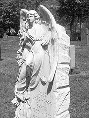 Woodmere Cemetery Angel