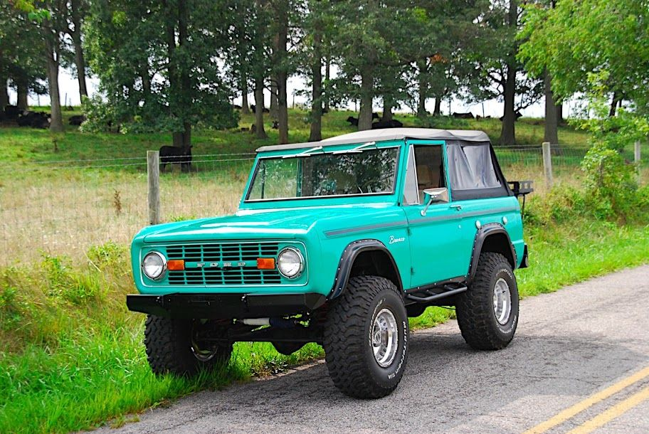 Mint Green Bronco Aka Gumby Classic Bronco Bronco Early Bronco