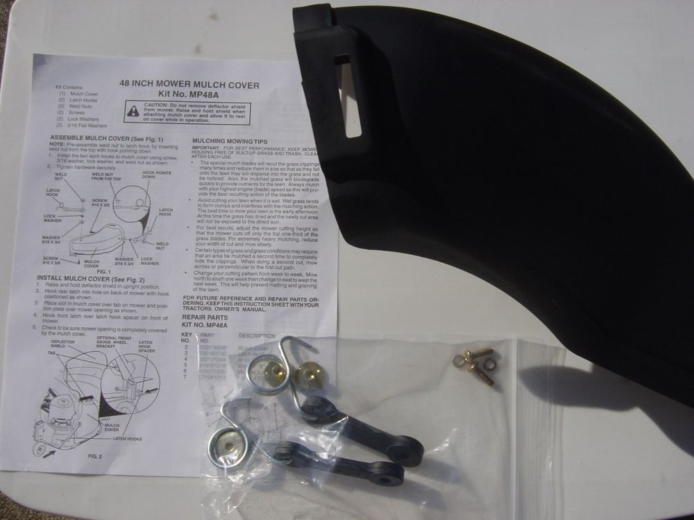 Husqvarna 42 48 Mulch Cover Kit 954040502 Fits 3 Blade Decks Mp48 Sears Husqvarna Husqvarna Ebay Cover
