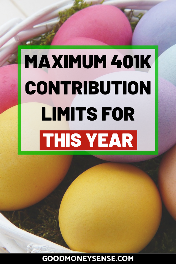 401k Contribution Limits for 2019 #financenestegg One of the best way to save money for retirement while saving on your taxes is with a 401k. Discover what the annual contribution limit is that you can contribute to your nest egg. #401k #retirement #nestegg #retire #finance #personalfinance #401kplan #financenestegg