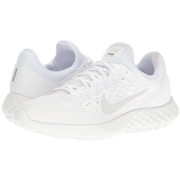 bca656a4f0ae Nike Lunar Skyelux (White Pure Platinum Off-White) Men s Running Shoes (310  BRL) ❤ liked on Polyvore featuring men s fashion