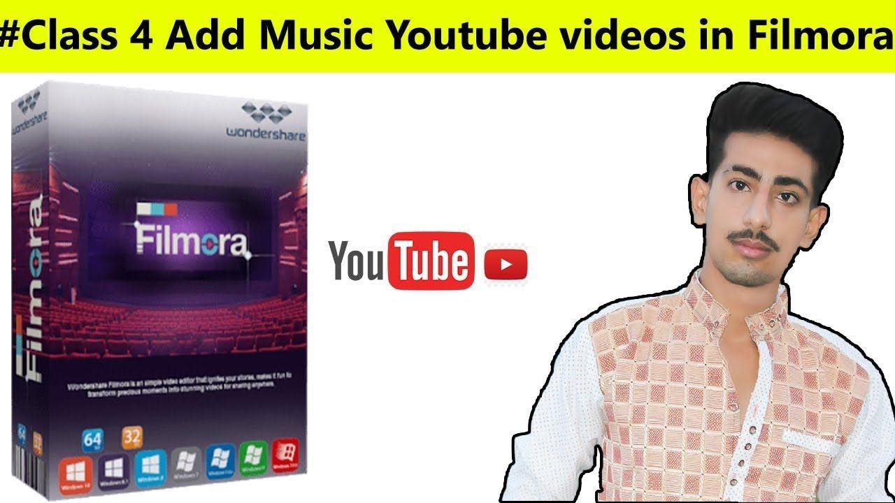 Filmora add background music youtube videos 2018