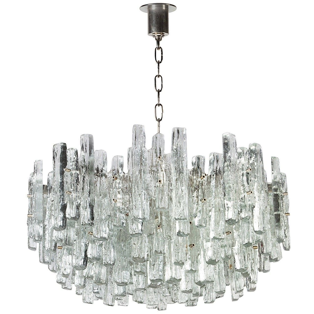 Vk4025 kalmar venetian ice style clear textured glass icicle vk4025 kalmar venetian ice style clear textured glass icicle pendant chandelier 24 aloadofball Gallery