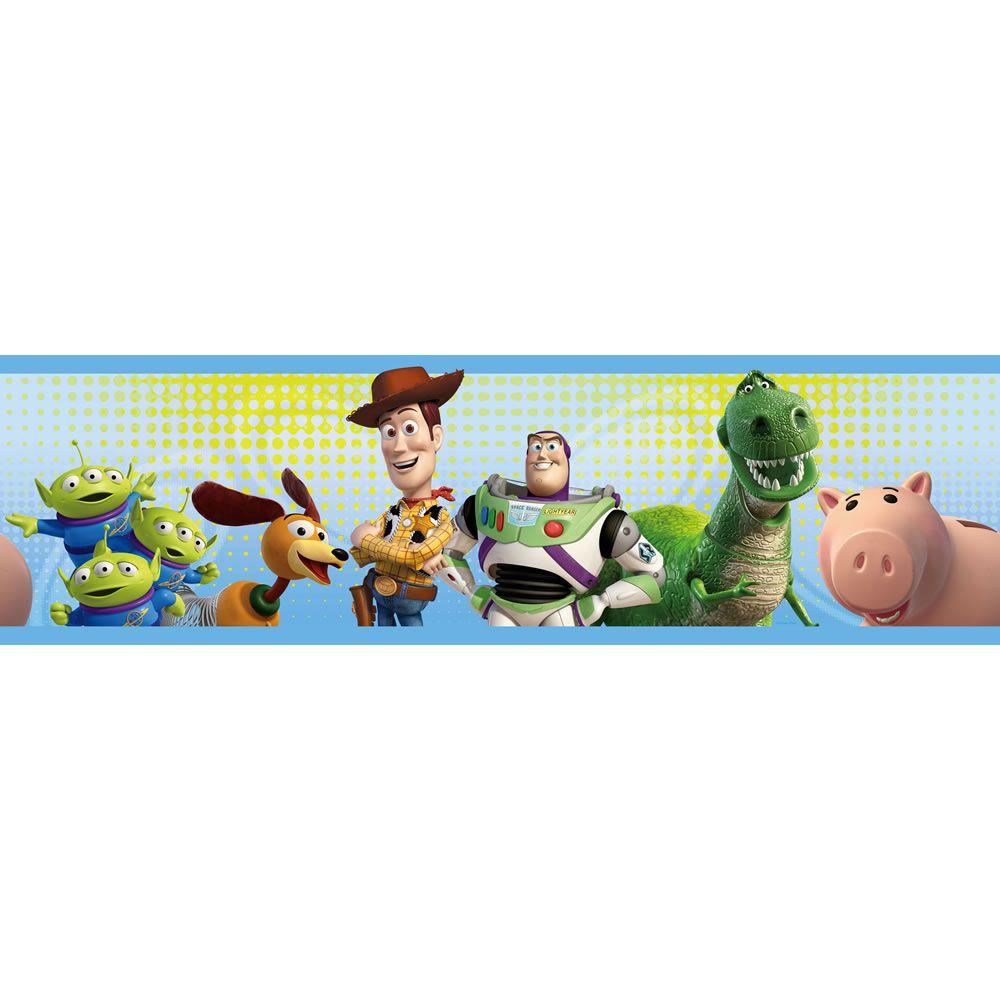 Disney Toy Story Border Self Adhesive 5mx16cm Disney Toys Toy Story Kids Wallpaper