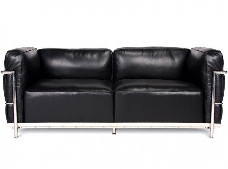 Le Corbusier Lc3 Sofa 2 Seater Grand Confort Collector Replica Replica Furniture Sofa Furniture