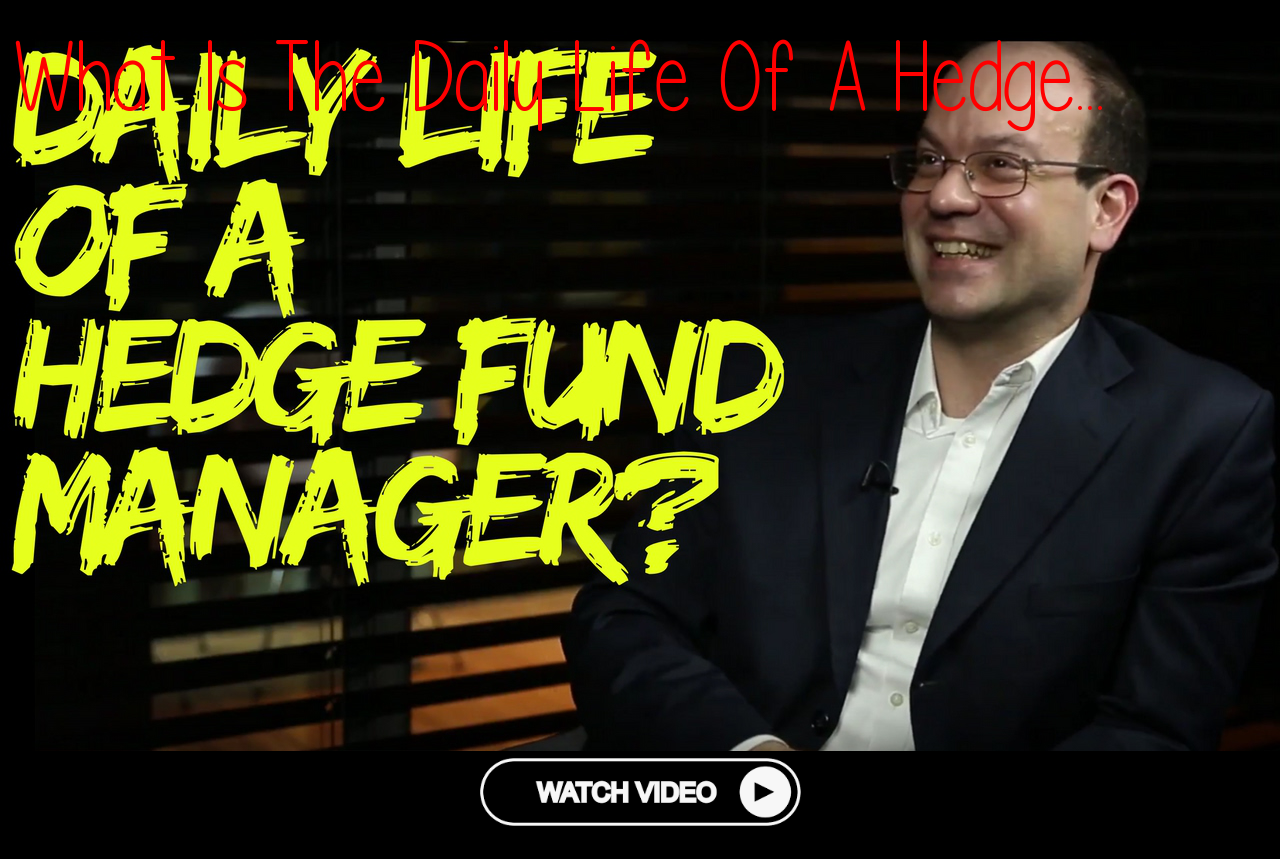 how to become a successful hedge fund manager