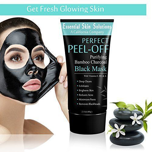 Consider, that dark facial mask from