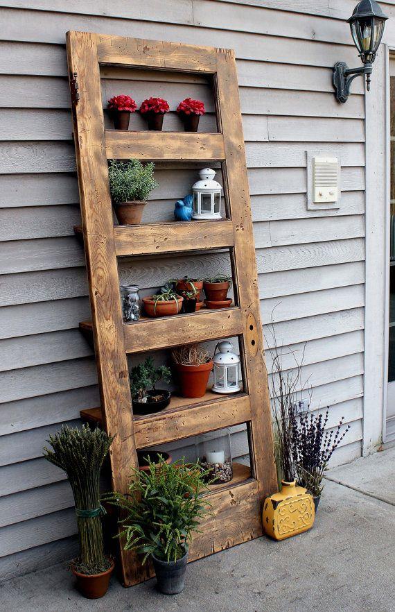 10 ideas para reciclar con puertas puertas viejas for Reciclar puertas
