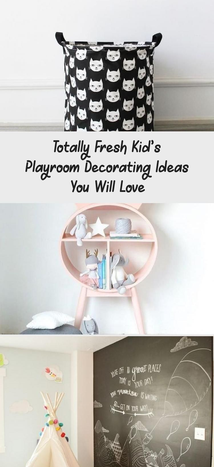 Totally Fresh Kid's Playroom Decorating Ideas You Will Love – Decor Dıy Children's room