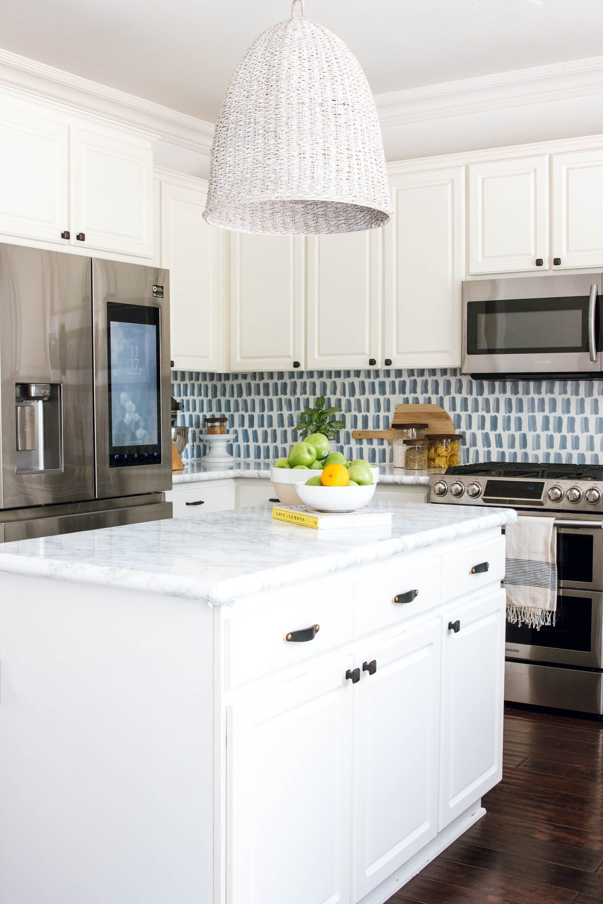 Diy Backsplash Wallpaper Backsplash Wallpaper Kitchen Design