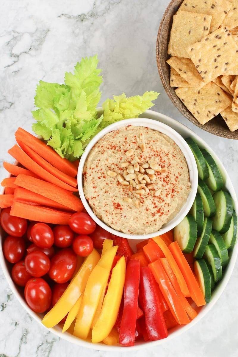 Spicy OilFree Hummus Recipe Whole food recipes