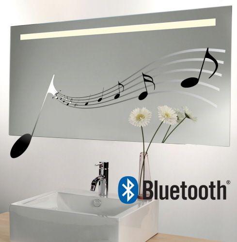 Design spiegel met audio muziek systeem 140x60 cm   Badkamer   Pinterest