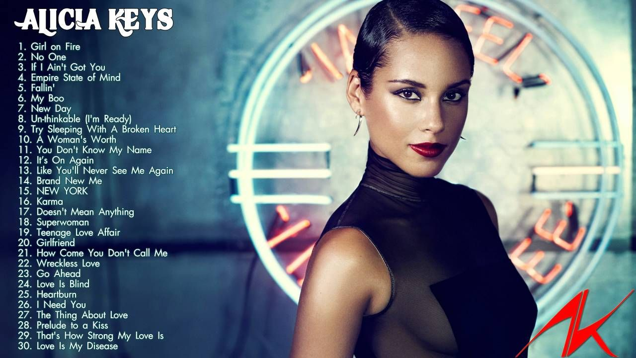 Alicia Keys Greatest Hits - The Best Music Of Alicia Keys