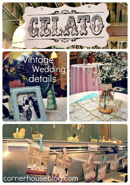 Corner House vintage wedding