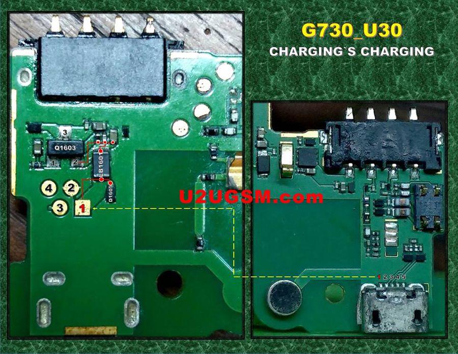 Huawei Ascend G730 Charging Problem Solution Jumper Ways