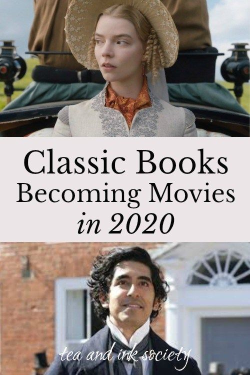 Classic Books Becoming Movies and Miniseries in 2020 is part of Classic books, Period drama movies, Film adaptations, Movies, Classic literature, Drama film - Read these classic novels before they become movies and TV series in 2020! This list includes 18 upcoming period drama film adaptations from classic lit