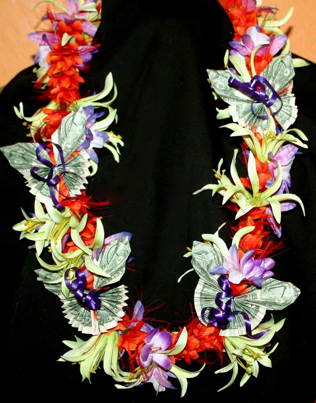 Hawaiian silk flower money lei 3600 via etsy hawaiian leis hawaiian silk flower money lei 3600 via etsy mightylinksfo Image collections