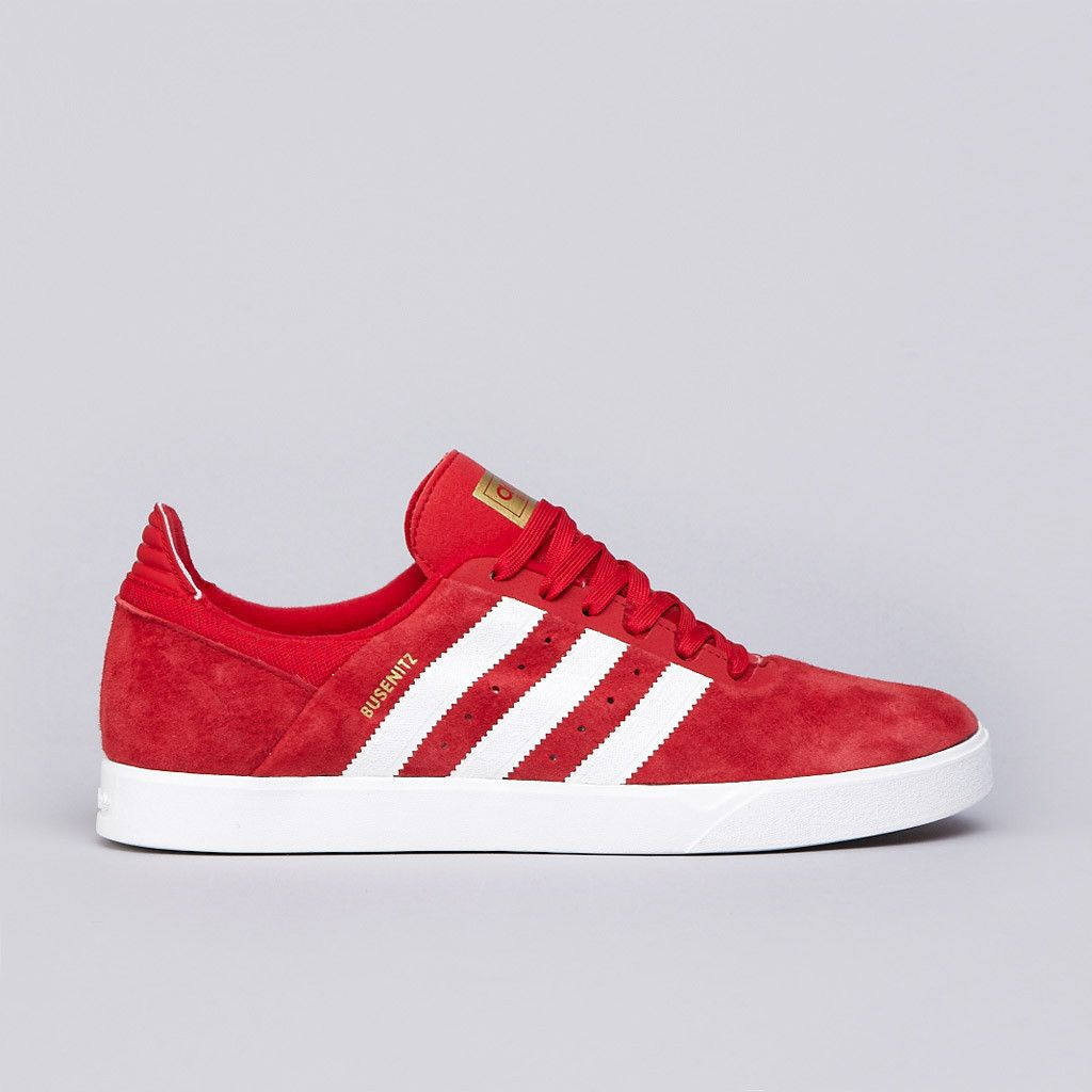 Adidas Busenitz Adv University Red   Running White   Black1  9a8cb8d1d