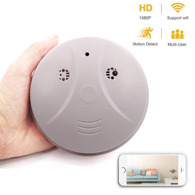 Top 10 Best Smoke Detector Hidden Cameras In 2020 Topreviewproducts Smoke Detector Security Camera Hidden Hidden Camera