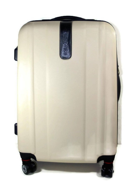 Samsonite Luggage Spinner Suitcase Oyster Bay DLX 24 Inch White #travel  #tsuspHQ #samsonite #luggage #lazybreezedeals