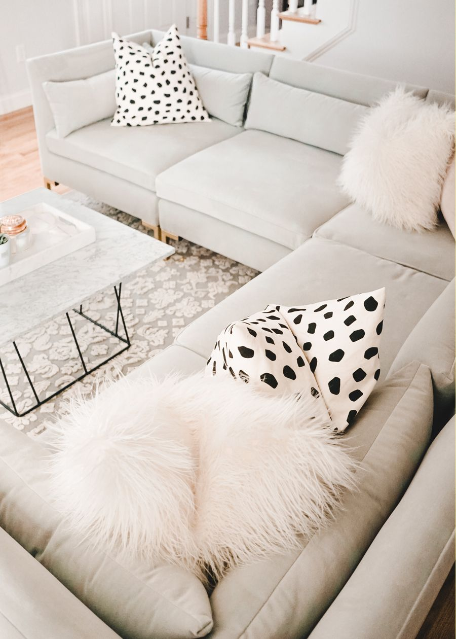 Living Room Update With Raymour Flanigan A Mix Of Min Living Room Update Marble Tables Living Room Room Update [ 1260 x 900 Pixel ]
