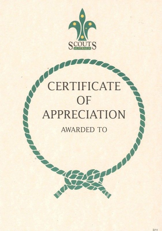 Certificate Appreciation  Google   Certificate