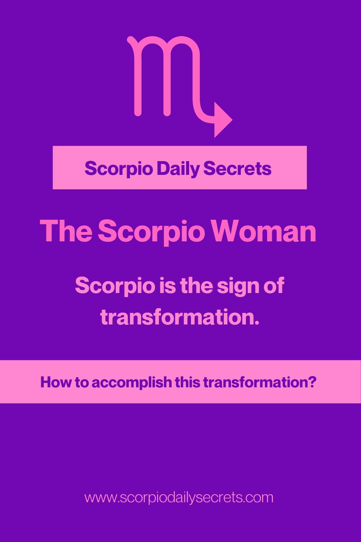 The Scorpio Woman