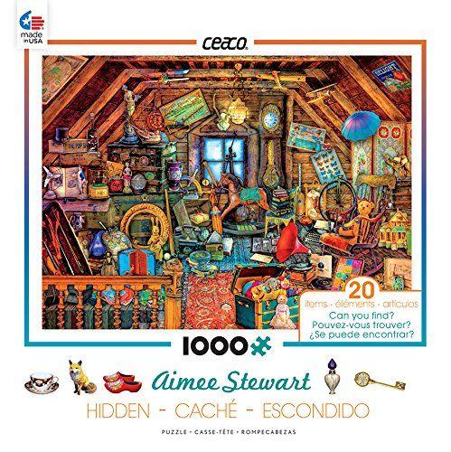 Ceaco Aimee Stewart Hidden In The Attic Puzzle 1000 Pi