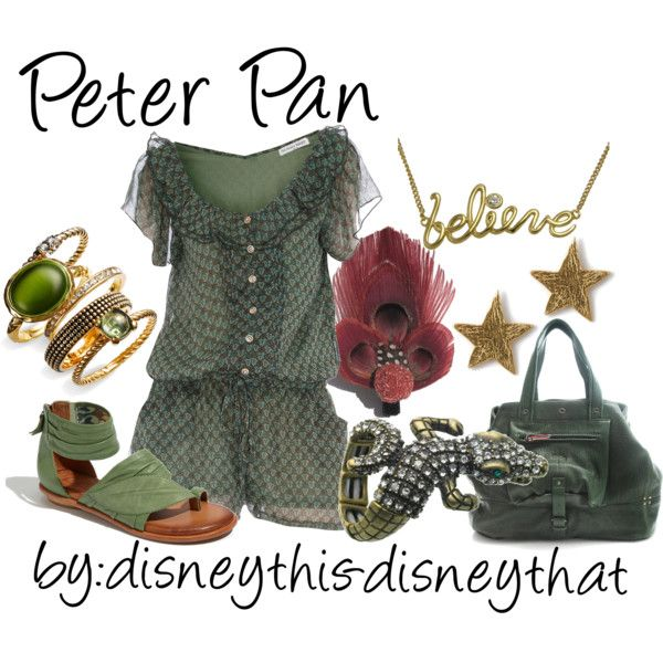 Peter Pan, created by disneythis-disneythat